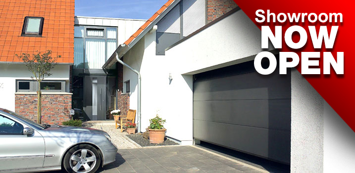 We install all types of sectional garage doors